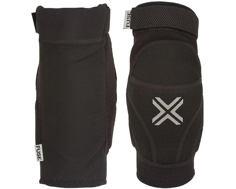 Fuse Protection Alpha Knee Pad: Black SM, Pair (L)