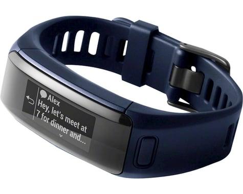 Garmin Vivosmart Heart Rate Activity Tracker (Midnight Blue) (Regular Fit)