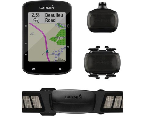 Garmin Edge 520 Plus Cycling Computer Bundle
