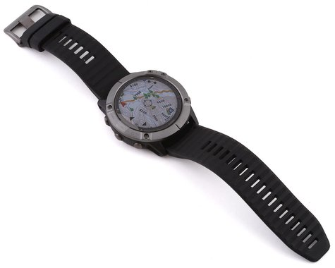 Garmin Fenix 6X Sapphire (Carbon Gray DLC w/ Black Fenix 6 Quick Fit Wristband)