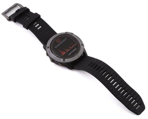 Garmin Fenix 6X Pro Solar (Carbon Gray DLC w/ Fenix 6 Quick Fit Wristband)