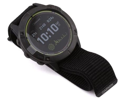 Garmin Enduro Watch (Carbon Grey DLC Titanium) (Black UltraFit Nylon Strap)