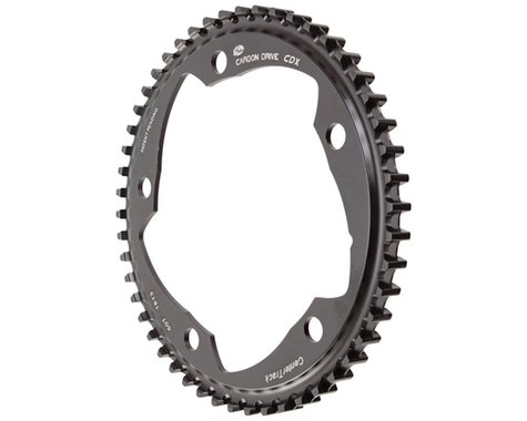 Gates Carbon Drive CDX CenterTrack Front Sprocket (Black) (50T)