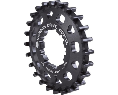 Gates Carbon Drive CDX Belt Drive SL Rear Cog (Black) (24T)