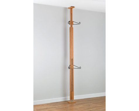 Gearup Gear Up OakRak Floor-To-Ceiling 2-Bike Rack