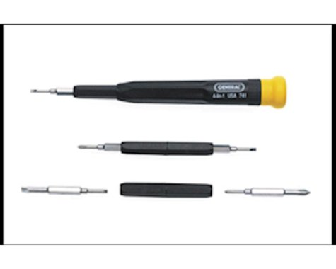 General Tools Precision Swivel-Tip Screwdriver