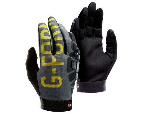 G-Form Sorata Trail Bike Gloves (Gray/Acid) (L)