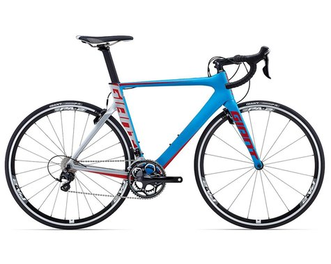 Giant Propel Advanced 2 Carbon Aero Road Bike (2015) (Blue/Silver/Red)