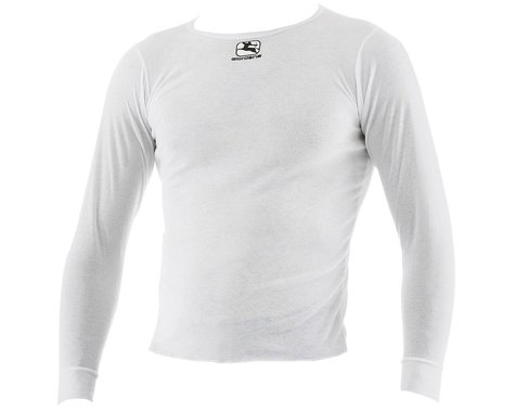 Giordana Long Sleeve Base Layer (White) (S)