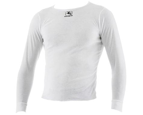 Giordana Long Sleeve Base Layer (White) (XL)