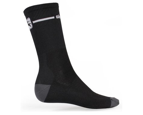 Giordana Trade Tall Sock (Black/White) (L)