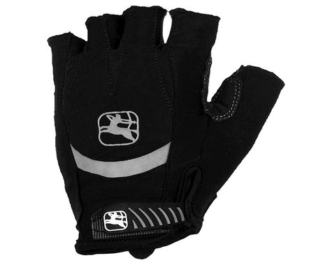 Giordana Strada Gel Gloves (Black) (XL)