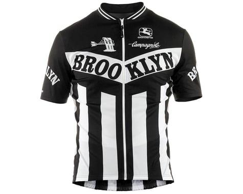 Giordana Team Brooklyn Vero Pro Fit Cycling Jersey (Black) (M)