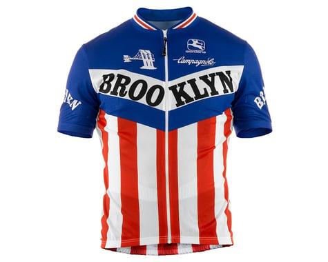 Giordana Team Brooklyn Vero Pro Fit Short Sleeve Jersey (Traditional) (XL)