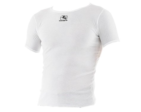 Giordana Dri-Release Short Sleeve Base Layer (White) (XL)