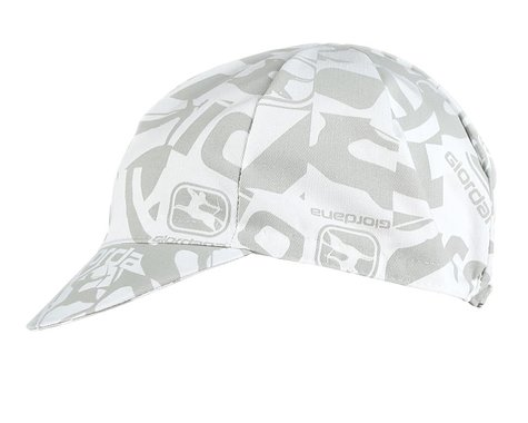 Giordana Camo Cotton Cycling Cap (White) (One Size Fits Most)