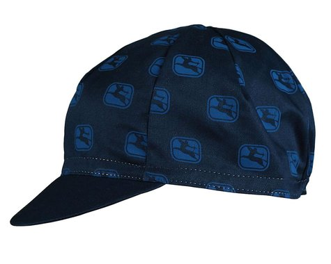 Giordana Sagittarius Cotton Cycling Cap (Navy) (One Size Fits Most)
