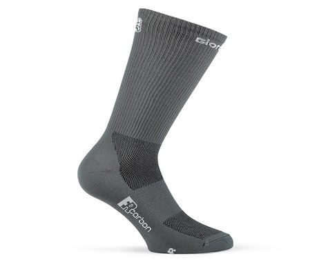 Giordana FR-C Tall Solid Socks (Grey) (S)