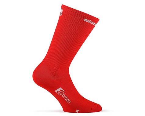 Giordana FR-C Tall Solid Socks (Red) (M)