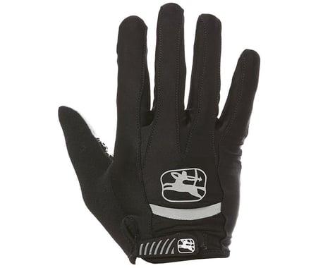 Giordana Strada Gel Full Finger Gloves (Black) (M)