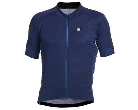 Giordana SilverLine Short Sleeve Jersey (Navy) (L)