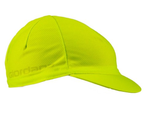 Giordana Mesh Cycling Cap (Lime Punch) (One Size Fits Most)
