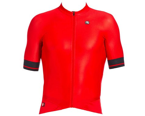 Giordana Men's FR-C Pro Short Sleeve Jersey (Cherry Red/Black) (M)