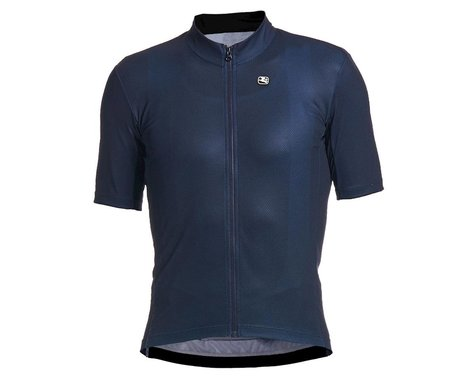 Giordana Fusion Short Sleeve Jersey (Midnight Blue) (XL)