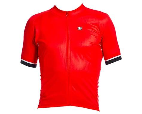 Giordana SilverLine Short Sleeve Jersey (Red) (M)