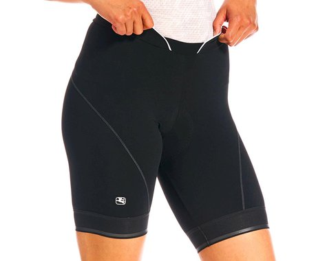 Giordana Women's Fusion Short (Black) (L)