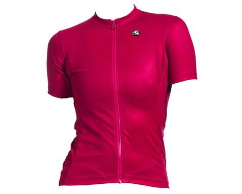 Giordana Women's Fusion Short Sleeve Jersey (Grape) (L)