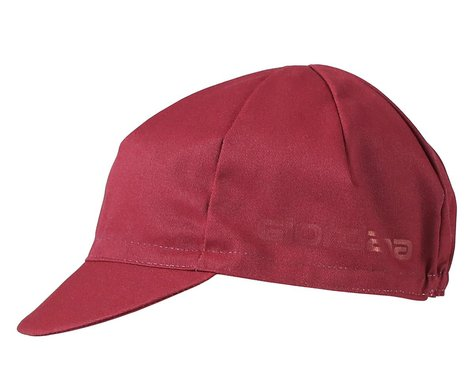 Giordana Solid Cotton Cycling Cap (Sangria) (One Size Fits Most)