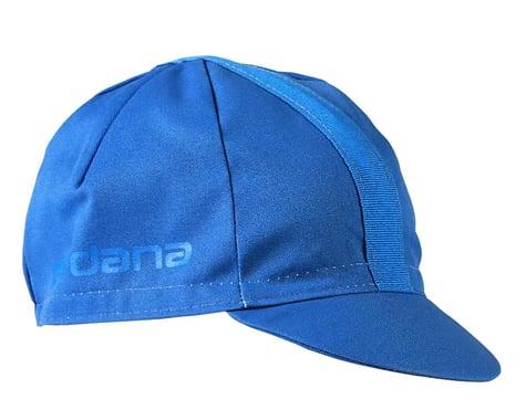 Giordana Solid Cotton Cycling Cap w/ Ribbon (Classic Blue) (Universal Adult)