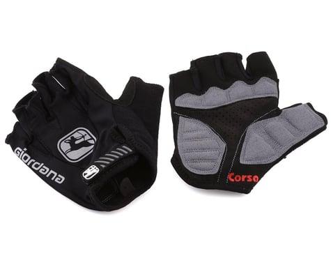 Giordana Corsa Gloves (Black) (M)