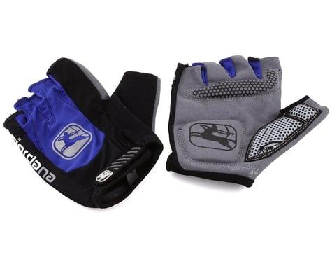 Giordana Strada Gel Short Finger Gloves (Blue) (M)