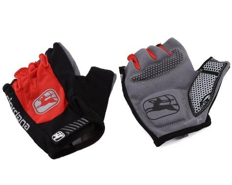 Giordana Strada Gel Short Finger Gloves (Red) (S)
