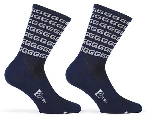 "Giordana FR-C Tall ""G"" Socks (Blue/White) (S)"