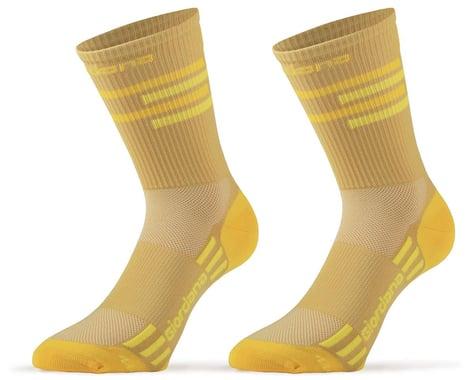Giordana FR-C Tall Lines Socks (Gold/Yellow) (M)