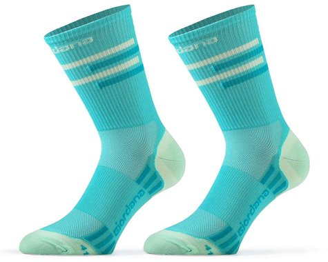 Giordana FR-C Tall Lines Socks (Sea Green) (M)