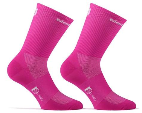 Giordana FR-C Tall Solid Socks (Fuchsia Fluo) (S)