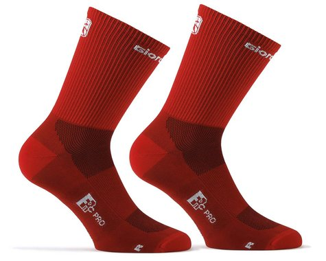 Giordana FR-C Tall Solid Socks (Pomegranate Red) (M)