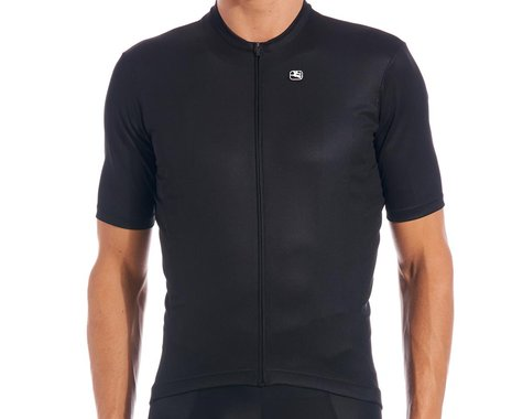 Giordana Fusion Short Sleeve Jersey (Black) (XL)