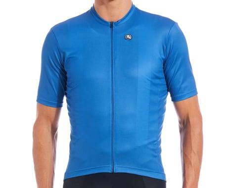 Giordana Fusion Short Sleeve Jersey (Classic Blue) (S)