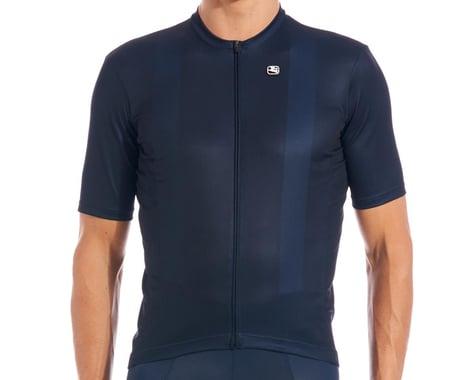 Giordana Fusion Short Sleeve Jersey (Midnight Blue) (L)