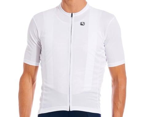 Giordana Fusion Short Sleeve Jersey (White) (L)
