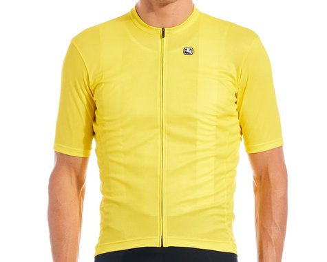 Giordana Fusion Short Sleeve Jersey (Meadowlark Yellow) (L)