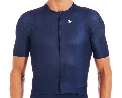 Giordana SilverLine Short Sleeve Jersey (Navy Blue) (XL)
