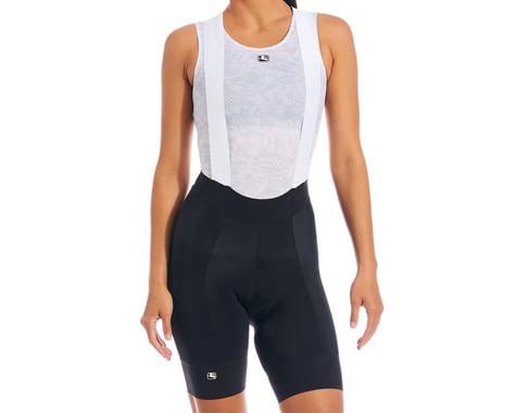 Giordana Fusion Women's Bib Shorts (Black) (L)