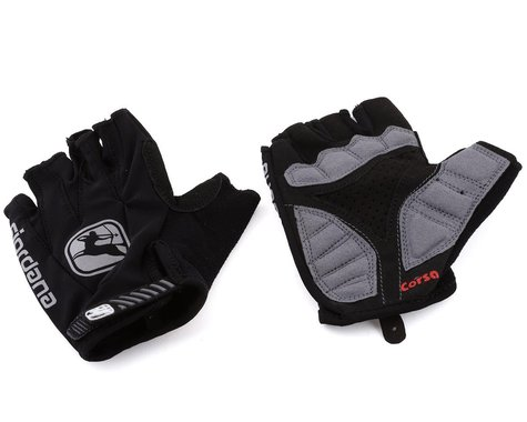 Giordana Women's Corsa Gloves (Black) (XL)