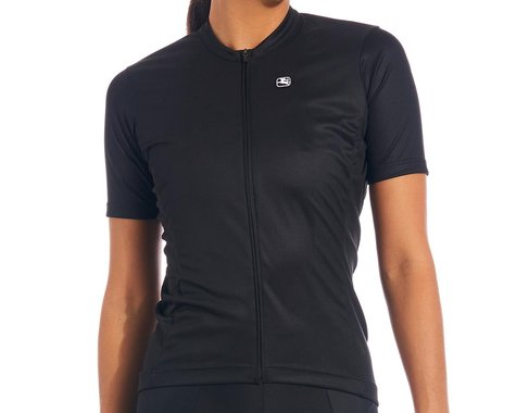 Giordana Women's Fusion Short Sleeve Jersey (Black) (S)